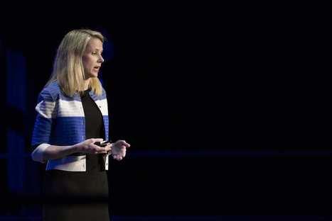 Yahoo!: clap de fin pour la PDG, Marissa Mayer | European & French IT world seen from PR side | Scoop.it