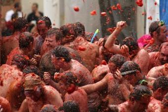¿Por qué hacéis guerras de tomates?   Juan Gavasa   Canada for Spaniards   Scoop.it