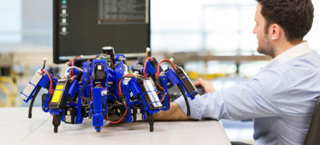 These Crazy Robots Are 3D Printers That Build Together | Universal curiosity, appreciation and imagination. | Scoop.it