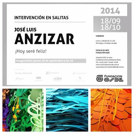 Anzizar en Fundación OSDE | 18Sep | Site specific en Salitas | ANZIZAR, Artista Visual Artist | Scoop.it