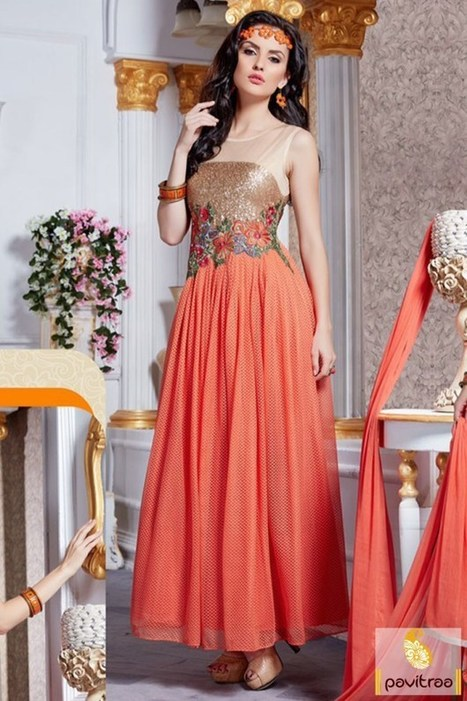 anarkali style\' in Online Shopping for Womens Clothes in India ...