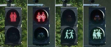 Vienna brings in gay pedestrian crossing lights - BBC News | The Global Village | Scoop.it