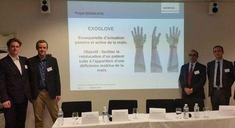Siemens récompense deux projets d'exosquelette | Medical Engineering = MEDINEERING | Scoop.it