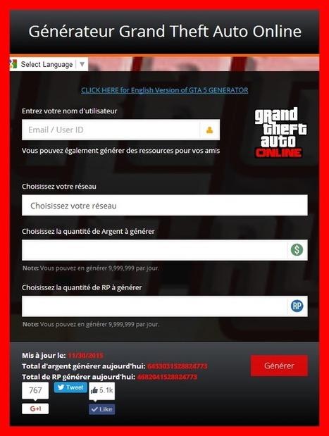 GTA 5 HACK ,Unlimited Money & RP   topics b