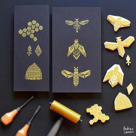 Andrea Lauren: Block $Printing #Stamps by Andrea #Lauren | Design Ideas | Scoop.it