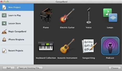 How To Record Voice Podcasts On The Mac   ChrisWrites.com   Learning With ICT @ CBC   Scoop.it