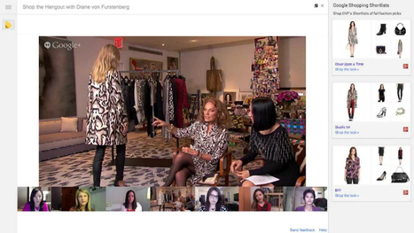 Google Shoppable Hangouts: Retail Comes Full Circle | Reload Digital | Google - a Plus for Business | Scoop.it