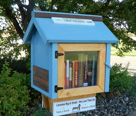 Une carte pour trouver la little free library qui se cache près de chez vous | bibliothécaires et bibiothèques | Scoop.it