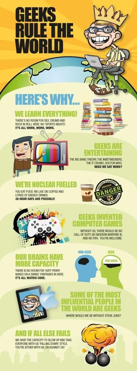 Why Geeks Rule the World? [Infographic] - RuhaniRabin.com | Nerd Vittles Daily Dump | Scoop.it