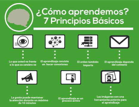 ¿Cómo aprendemos?  7 principios básicos para crear eLearning efectivo | Utilidades TIC e-learning | Scoop.it