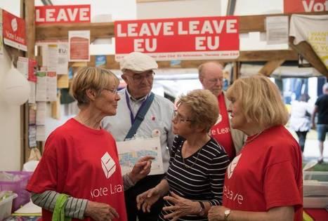 Financiada por Europa pero partidaria del 'Brexit' | Badarkablando | Scoop.it