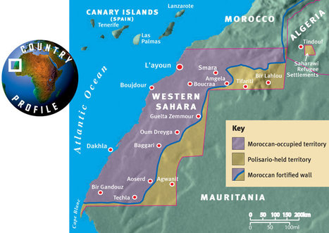 Morocco: Western Sahara Conflict Reaches British Court | Geography Education | Scoop.it