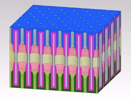 """Tiny battery is made from lots of even tinier """"nanopore"""" batteries #Nanotechnology 