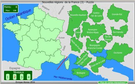 Nouvelles régions de la France (3) - Puzzle - Enrique Alonso | POURQUOI PAS... EN FRANÇAIS ? | Scoop.it