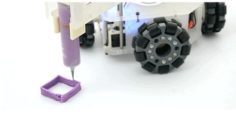 A Robotic 3D Printer Could Print Anything, Anywhere It Wants | machinelike | Scoop.it