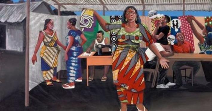 Au Congo, la peinture populaire tient la chronique du quotidien | Le Monde | Kiosque du monde : Afrique | Scoop.it
