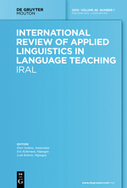 Special Issue: New Directions in L2 Speech Fluency, Editors: Clare Wright and Parvaneh Tavakoli : International Review of Applied Linguistics in Language Teaching | TELT | Scoop.it