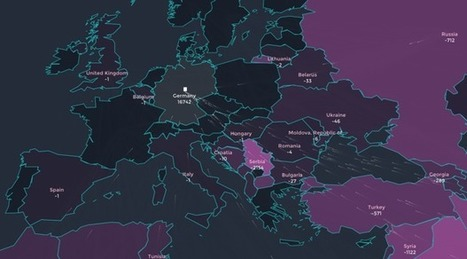 Watch Europe's Migrant Crisis Escalate in This Animated Map | Geography in the classroom | Scoop.it