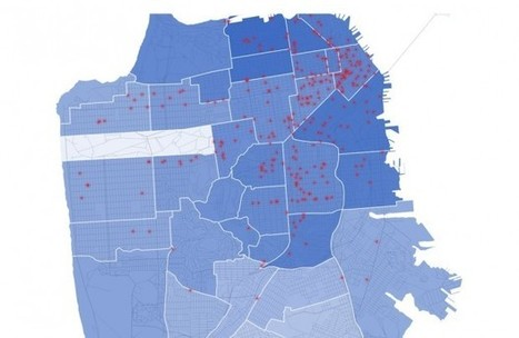 This Interactive Map Shows Increased Rent After Coffee Shops Appear... | Coffee News | Scoop.it