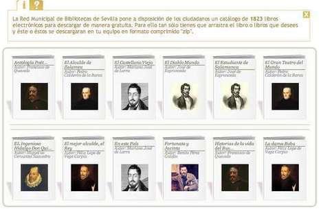 Más de 1.800 ebooks gratuitos para descargar, por cortesía de las #bibliotecas municipales de Sevilla   ideas verdes   Scoop.it