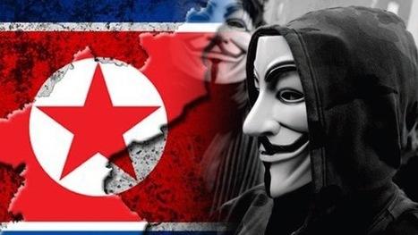 Anonymous realiza el segundo ataque a gran escala contra Corea del Norte | Entretenimientored | Scoop.it