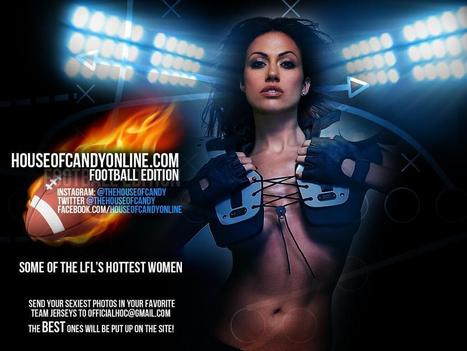 Twitter / THEHOUSEOFCANDY: #hotbabes #lfl #football #gameday ... | LFL - Lingerie Football League | Scoop.it