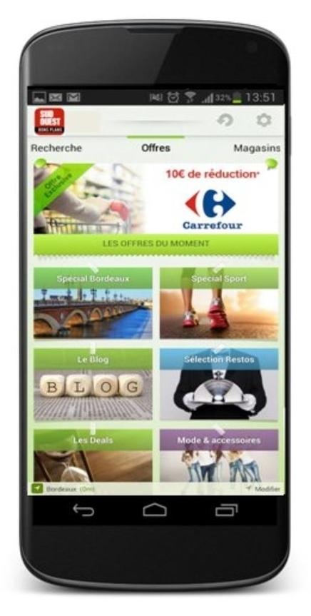 Carrefour teste le m-couponing dans la région bordelaise   Couponing, M-Couponing, E-Couponing, M-Wallet & Co.   Scoop.it
