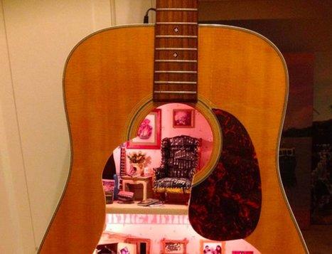 PHOTOS. Une maison de poupée dans une guitare - Le Huffington Post | L'actualité de la guitare | Scoop.it