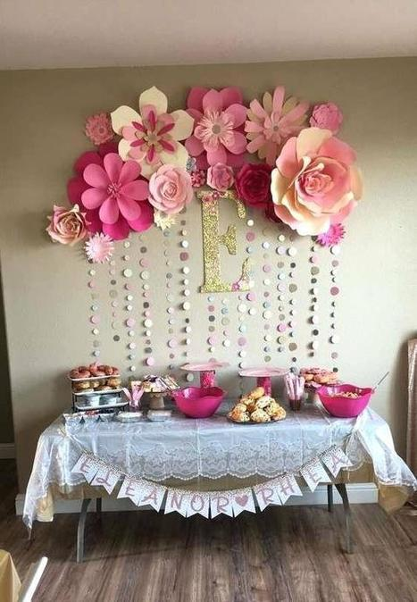 Girl Baby Shower Decorations Ideas Baby Showe