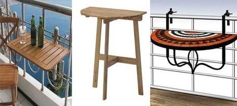 Mesas Perfectas Para Terrazas O Balcones Peque