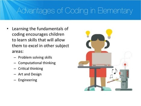Why Should We Teach Programming? - @kodable #hourofcode  | Using Technology to Transform Learning | Scoop.it