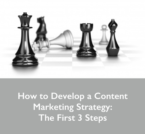 How to Develop a Content Marketing Strategy: The First 3 Steps | Utilising Social Media | Scoop.it