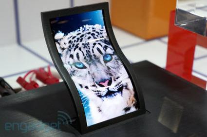 LG lance la production d'écrans flexibles | Veille en vrac | Scoop.it