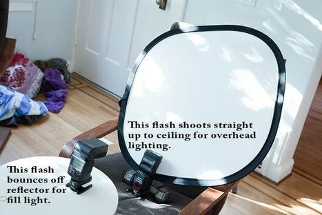 The MacGyver Clamshell Light : Clean lighting in a pinch! | Le photographe numérique | Scoop.it
