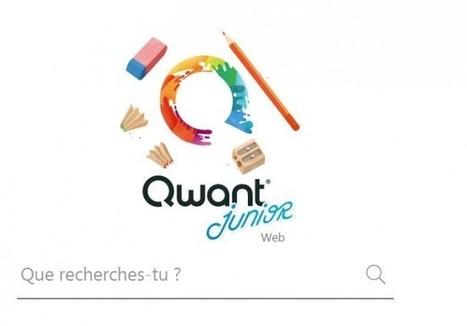 Qwant Junior, un moteur de recherche pour enfants made in France - Rue89 - L'Obs   TUICE_primaire_maternelle   Scoop.it