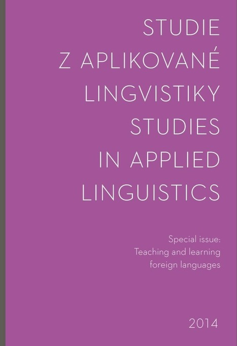 Teaching and learning foreign languages: Studies in Applied Linguistics, 2014 | TELT | Scoop.it