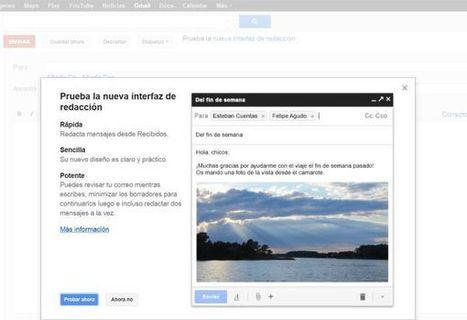 Gmail estrena una nueva interfaz para escribir mensajes | e-learning y moodle | Scoop.it