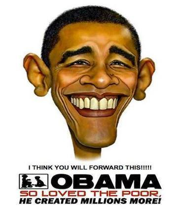 Obama so loved the poor (pic) | Government Gone Wrong | Scoop.it