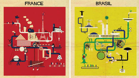 17 Posters Based On The Architecture Of 17 Nations | Avant-garde Art, Design & Rock 'n' Roll | Scoop.it