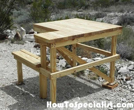 Enjoyable 2X4 Shooting Bench Diy Project Howtospecial Dailytribune Chair Design For Home Dailytribuneorg