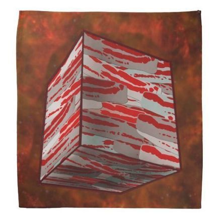 We Are The Bacon. Resistance is Futile Bandana | SNR | Scoop.it