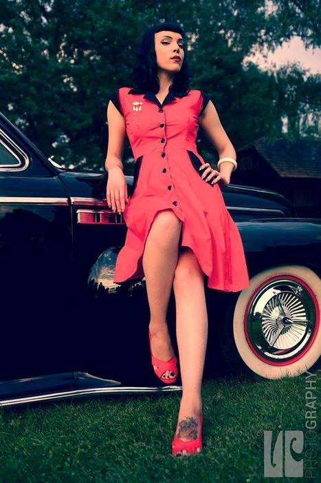 Pin Up Girl Tamara Kamikaze Sucks You In & Leaves You Beggin' For More | Rockabilly | Scoop.it