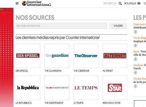 3 ressources en ligne pour suivre l'actualité à travers la presse mondiale – Les Outils Tice   sites for efl teachers   Scoop.it