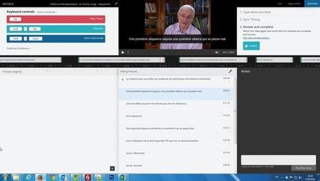 Activer les sous-titres. | eLearning en Belgique | Scoop.it