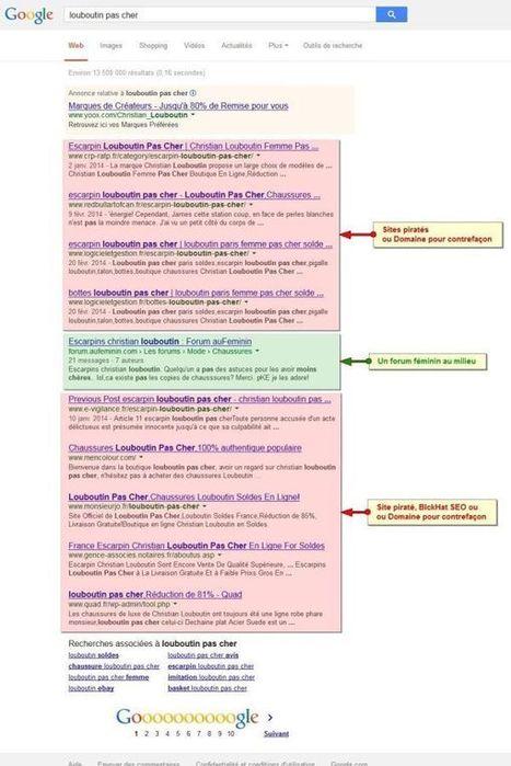Contrefaçon : des millions d'Euros s'évadent sur Google. > Blog AxeNet | Technique web | Scoop.it