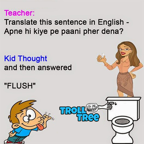 Teacher Student Very Funny Jokes Trollt