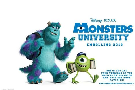 Monsters University - A Review - MoonProject | Moon Project | Scoop.it