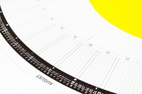 This Clever Calendar Visualizes Why Winter Is So Damn Cold | New Abstract Visual Art | Scoop.it