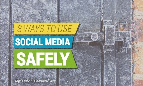 8 Tips To Protect Yourself When Using #SocialMedia - #infographic | Migrobjets | Scoop.it