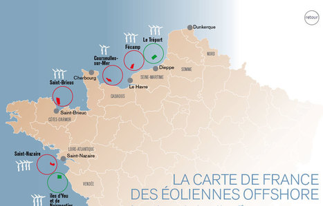 Eoliennes : l'offshore boudé auTréport   La revue de presse de Normandie-actu   Scoop.it